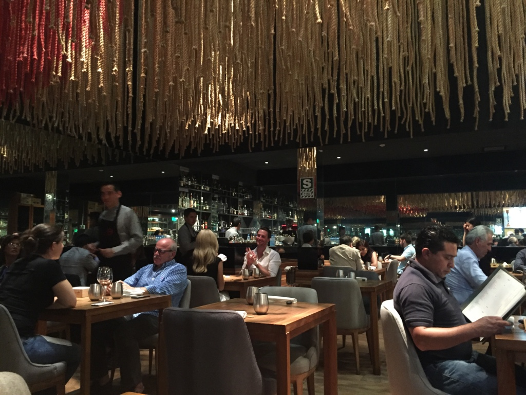 Main Dining Room at Maido Lima
