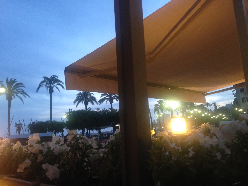 Alfresco Restaurant, Sitges: Something special