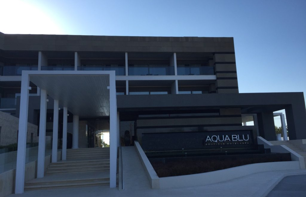 Aqua Blu Boutique Hotel & Spa, Kos: Glossy addition to Kos island