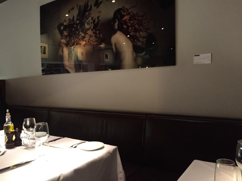 L'Anima Restaurant, London: Not for me