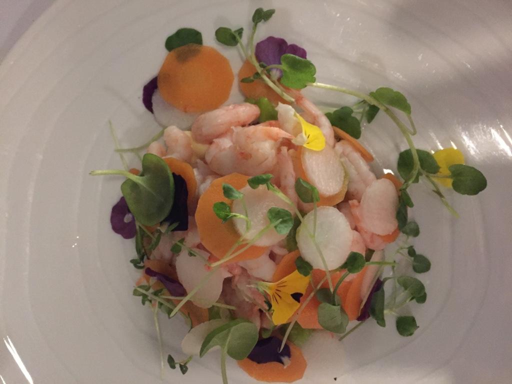krog-roba-restaurant-helsinki-prawn-salad-travel-highlife